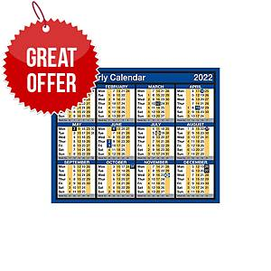 Lyreco Desk/Wall Calendar 260 X 210mm - Year To View
