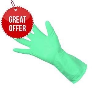 Rubber Glove Clean Grip 300792  Green Medium (Pair)