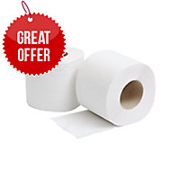 LYRECO 2 PLY TOILET ROLL 320 SHEET - PACK OF 36