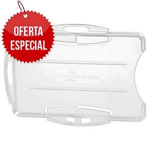 Pack de 10 identificadores de segurança abertos Durable - transparente