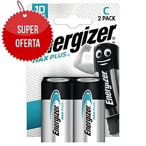 Baterie alkaliczne Energizer MAX PLUS C, 2 szt.