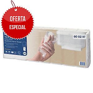Pack de 7 paquetes de toallas secamanos Tork Premium - 100 hojas - W - 2 capas