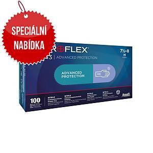 Jednorázové nitrilové rukavice Ansell Microflex® 93-843, velikost 6.5-7, 100ks