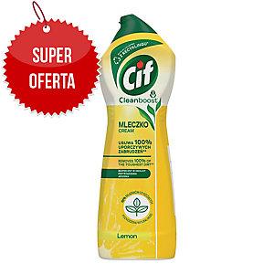 Mleczko do czyszczenia CIF, cytrynowe, 780 ml