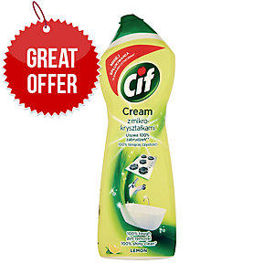 CIF 8816209 CREAM CLEANER LEMON 700ML