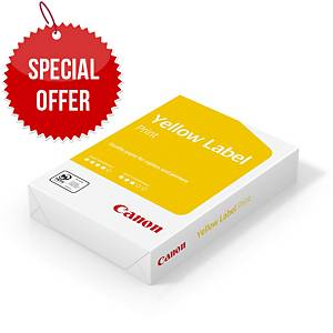 RM500 CANON YELLOW LABEL PAPER A4 80G
