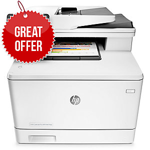 HP M477FDW COLOUR LASERJET MFP PRINTER - CF379A
