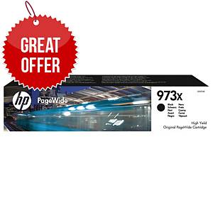 HP 973X High Yield Black Original Pagewide Cartridge (L0S07AE)