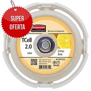 Wkład do odświeżacza powietrza Rubbermaid TCELL 2.0, zapach cytrusowy, 24 ml