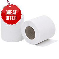LYRECO 2 PLY TOILET ROLL 200 SHEET - PACK OF 36
