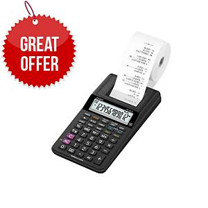 Casio HR-8RCE Printing Calculator - 12 Digit