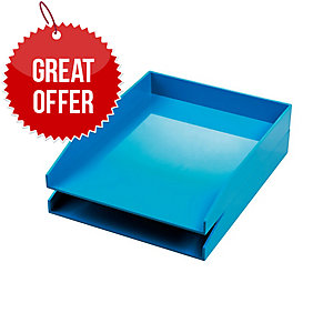 Avery Cs102 Letter Tray Blue