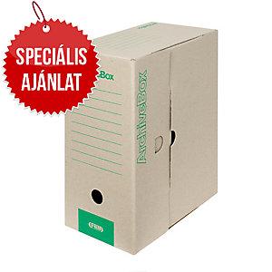 Emba hordozható archiváló doboz 330x260x150 mm A4, natúr, 20 darab