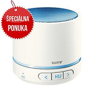 Leitz WOW prenosný Bluetooth reproduktor, modrý