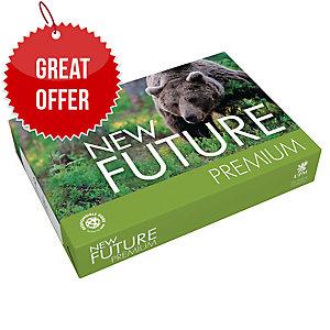 Future Premium White A4 Paper 80gsm - Box of 5 Reams (5 X 500 Sheets)