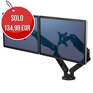 Braccio monitor Fellowes Platinum Series doppio nero