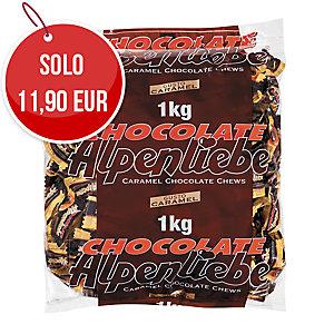 Caramelle Alpenliebe gusto caramel e ripieno cioccolato busta 1kg