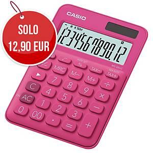 Calcolatrice da tavolo Casio MS-20UC 12 cifre rosso porpora