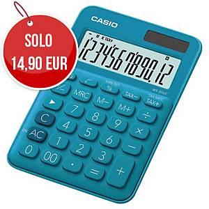 Calcolatrice da tavolo Casio MS-20UC 12 cifre azzurro