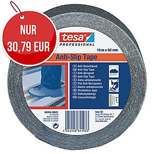 tesa® 60950 Anti-Rutschband, 50 mm x 15 m, schwarz