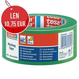 Označovacia PVC páska tesaflex® 60760, 50 mm x 33 m, zelená