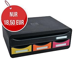 Exacompta Toolbox 4-Schubladenbox, 355 x 135 x 270 mm