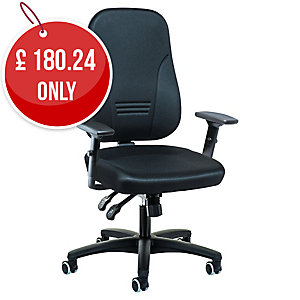 Interstuhl 1452 Black Synchron Chair