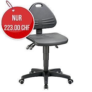 Industriestuhl Prosedia 9608, schwarz