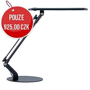 Stolní LED lampa Unilux Rumba, černá