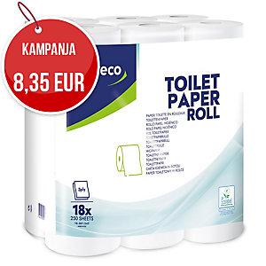 Lyreco wc-paperi 3-kertainen, myyntierä 1 kpl = 18 rullaa