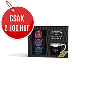 Ajándékcsomagolás - 3 Sir Winston tea és bögre