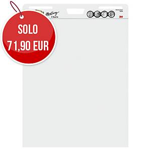 Meeting Chart Post-It Super Sticky bianco - conf. 2 blocchi + 1 gratis