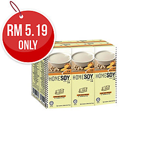 HOMESOY BROWN SUGAR SOY MILK 236ML - PACK OF 6