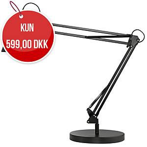 Bordlampe Unilux Success LED, 80 cm arm, sort
