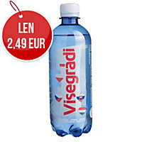 Prírodná minerálna voda Visegrádi perlivá 0,5L, balenie 12ks