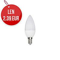 LED žiarovka C35 sviecový tvar, E14 5W
