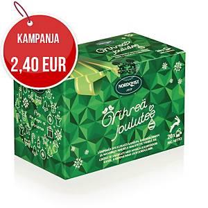 Nordqvist vihreä Joulutee, 1 kpl=20 pussia
