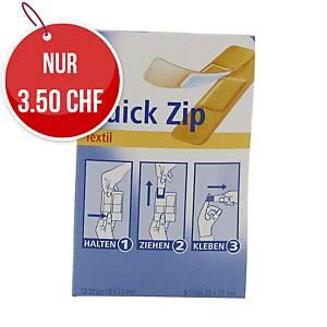 Pflasterspender Hartmann Quick Zip, elastisch/wasserfest, Set à 20 Stk.