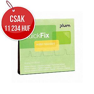 Plum QuickFix 5511 vízálló sebtapaszok, 6 x 45 darab