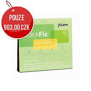 Voděodolné náplasti Plum QuickFix 5511, 6 x 45 kusů
