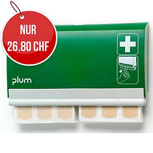 Pflasterspender QuickFix, mit 2x45 elastische Pflaster,grün/weiss