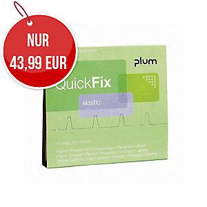 Plum QuickFix 5512 elastische Pflaster 6 x 45 Stück
