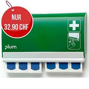 Pflasterspender QuickFix, mit 2x45 Detectable Pflaster,grün/weiss