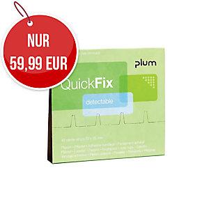 Plum QuickFix 5513 detektierbare Pflaster, 6 x 45 Stück