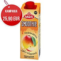 Marli hedelmäinen smoothie + d&c -vitamiinit 2,5dl, myyntierä 1 kpl = 15 tölkkiä