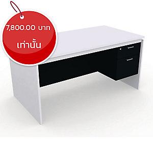 DESUKU โต๊ะทำงาน รุ่น FX1502 150X80X75 ซม. ขวา