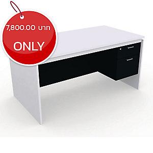 DESUKU FX1502 OFFICE TABLE 150X80X75 CM RIGHT