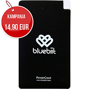 Bluebiit PowerCard 5000 mAh -varavirtalähde