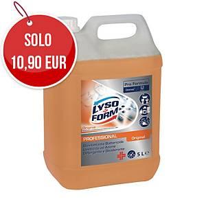 Detergente disinfettante Lysoform professionale original 5 L