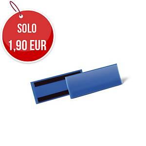 Tasca per identificazione con bande magnetiche Durable 210x74 mm